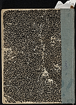 [James Penney's New York Sketchbook cover back ]