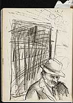 [James Penney's New York Sketchbook sketch 118]