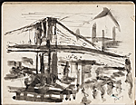 [James Penney's New York Sketchbook sketch 112]