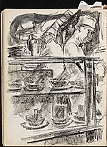[James Penney's New York Sketchbook sketch 109]