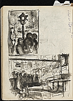 [James Penney's New York Sketchbook sketch 107]