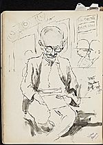 [James Penney's New York Sketchbook sketch 103]