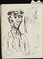 [James Penney's New York Sketchbook sketch 95]