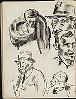[James Penney's New York Sketchbook sketch 93]
