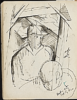 [James Penney's New York Sketchbook sketch 89]