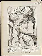 [James Penney's New York Sketchbook sketch 87]