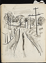 [James Penney's New York Sketchbook sketch 82]
