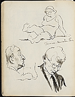[James Penney's New York Sketchbook sketch 66]