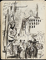 [James Penney's New York Sketchbook sketch 64]
