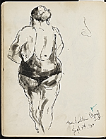 [James Penney's New York Sketchbook sketch 52]