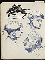 [James Penney's New York Sketchbook sketch 35]