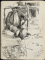 [James Penney's New York Sketchbook sketch 5]