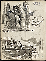 [James Penney's New York Sketchbook sketch 3]