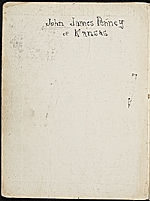 [James Penney's New York Sketchbook cover verso ]