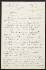 [James Penney draft letter to