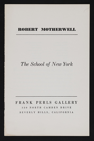 The school of New York