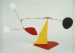 [Black counterpoint by Alexander Calder]