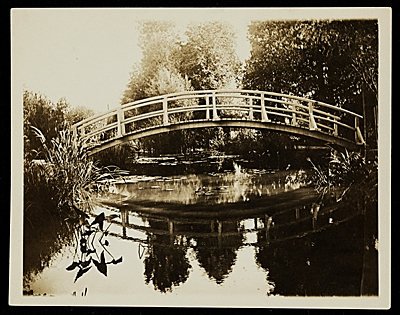 [Bridge in Giverny, France]