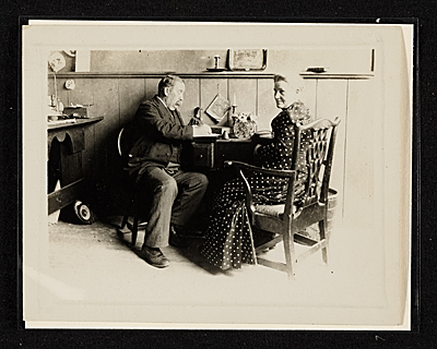[John Frederick Peto's father and mother]