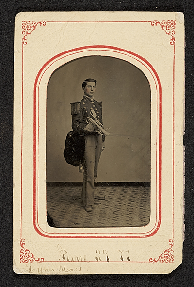 John Frederick Peto in his uniform for the 3rd Regiment Band of Philadelphia