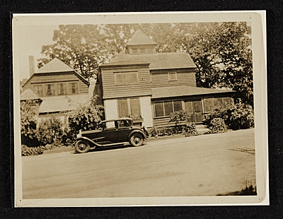 Exterior view of John Frederick Petos home and studio at 102 Cedar St., Island Heights, New Jersey