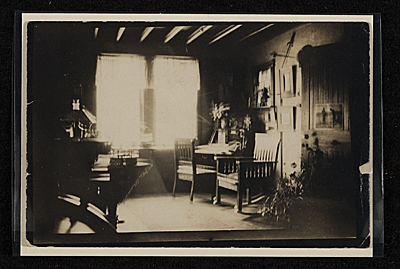 Interior of John Frederick Petos home