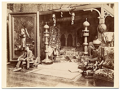 [Benjamin Constant in his studio]