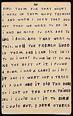 [Horace Pippin memoir of his experiences in France during World War I 28]