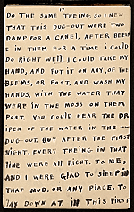 [Horace Pippin memoir of his experiences in France during World War I 29]