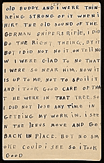 [Horace Pippin memoir of his experiences in France during World War I 40]