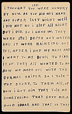 [Horace Pippin memoir of his experiences in France during World War I 44]