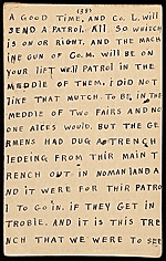[Horace Pippin memoir of his experiences in France during World War I 50]