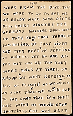 [Horace Pippin memoir of his experiences in France during World War I 56]