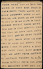 [Horace Pippin memoir of his experiences in France during World War I 61]
