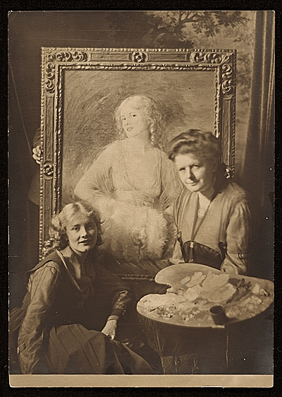 Jeanne Eagels and Elizabeth Piutti-Barth