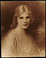 Portrait of Jeanne Eagels as her character