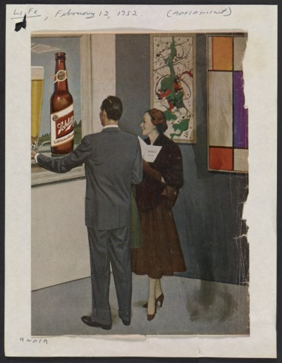 Advertisement for Schlitz beer from Life magazine