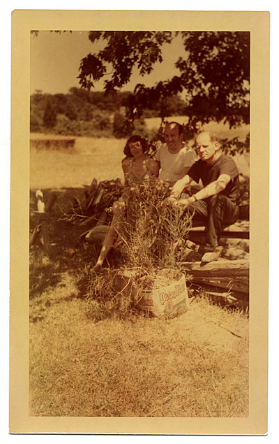 Lee Krasner, Clement Greenberg and Jackson Pollock