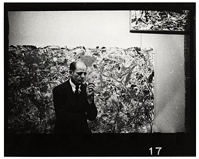 Jackson Pollock at Betty Parsons Gallery