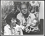 Lee Krasner, Jackson Pollock, and an unidentified child