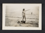 Lee Krasner at the beach