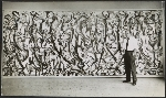 Jackson Pollock at the Art of This Century gallery