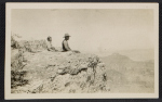 Jackson Pollock and LeRoy Pollock at the Grand Canyon