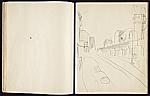 [Fairfield Porter sketchbook sketchbook page 8]