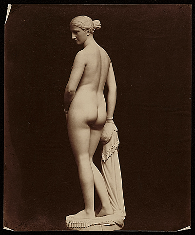 [original plaster of 'Greek Slave']