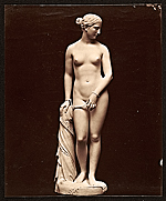 Original plaster of Greek Slave (1843)