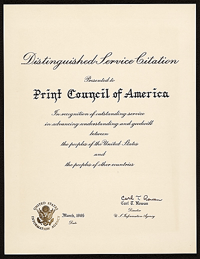 Distinguished Service Citation
