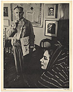 Milton Avery with model