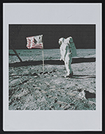 [Inkjet print of Astronaut Buzz Aldrin walking on the moon in 1969 1]