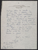 Charles Parkhurst letter to Perry Rathbone